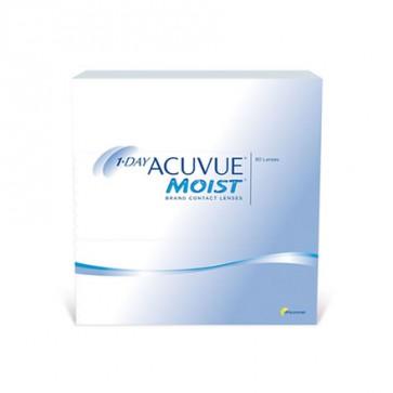 1-DAY ACUVUE® MOIST®: 1-Tageslinsen, sphärisch, 90er Box von Johnson&Johnson