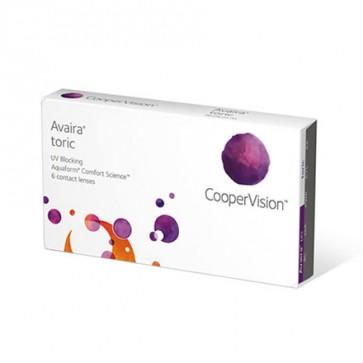 Avaira® toric: Monatslinsen, torisch, 6er Box von CooperVision