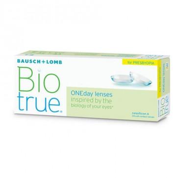 Biotrue® ONEday for Presbyopia low Add: 1-Tageslinsen, multifocal, 30er Box von Bausch+Lomb