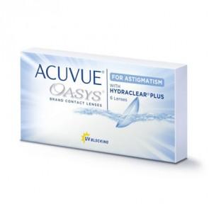 ACUVUE® OASYS® for ASTIGMATISM: 14-Tageslinsen, torisch, 6er Box von Johnson&Johnson
