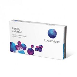 Biofinity® multifocal: Monatslinsen, multifocal, 6er Box von CooperVision