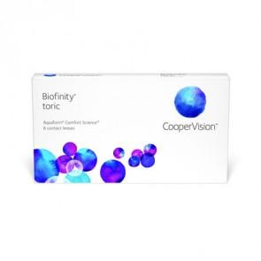 Biofinity® toric: Monatslinsen, torisch, 6er Box von CooperVision