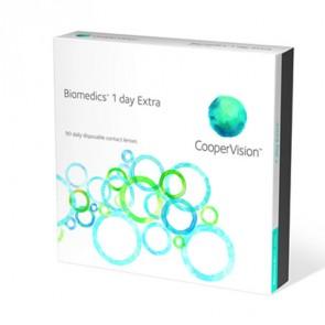 Biomedics® 1 day Extra BC 8,6: 1-Tageslinsen, sphärisch, 90er Box von CooperVision