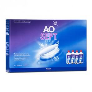 AOSEPT® Plus, 4 x 360 ml, Peroxidsystem von Alcon