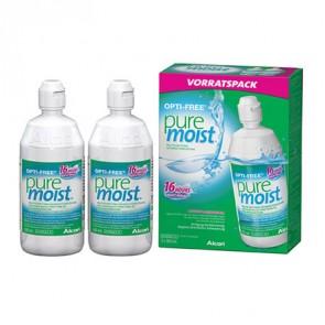 OPTI-FREE® PureMoist®, 2 x 300 ml, All-In-One Lösung von Alcon