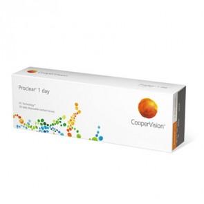 Proclear® 1 day: 1-Tageslinsen, sphärisch, 30er Box von CooperVision