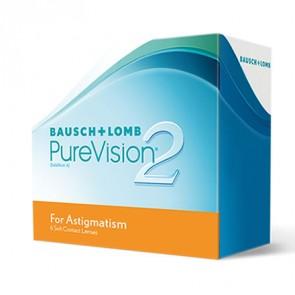 PureVision® 2 HD for Astigmatism: Monatslinsen, torisch, 6er Box von Bausch+Lomb