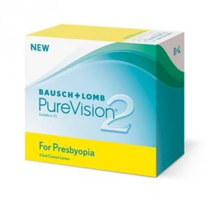PureVision® 2 HD for Presbyopia: Monatslinsen, multifocal, 6er Box von Bausch+Lomb