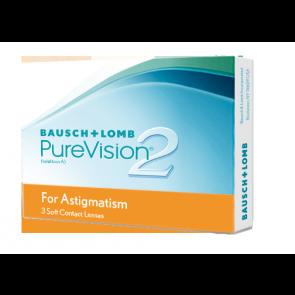 PureVision® 2 HD for Astigmatism: Monatslinsen, torisch, 3er Box von Bausch+Lomb