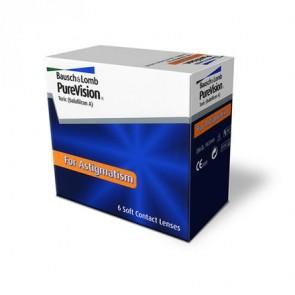 PureVision® Toric: Monatslinsen, torisch, 6er Box von Bausch+Lomb