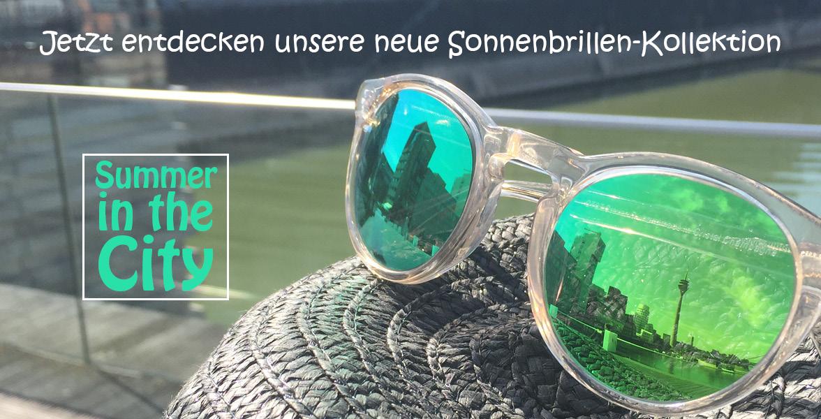 Brillenmonster Sonnenbrillen verspiegelt oder getönt