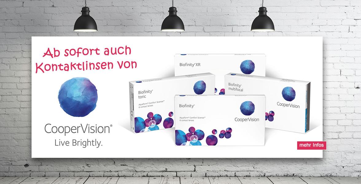 Brillenmonster Biofinity Kontaktlinsen CooperVision